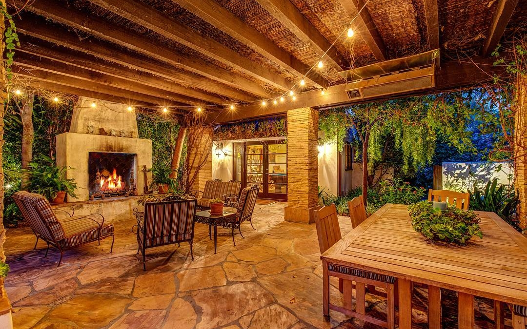 This beautiful backyard has all the amenities one could want. A pool, a covered patio with fireplace and a game room in the back. . . . . #realestate #larealestate #luxuryrealestate #luxuryhomes #luxury_homes #highclasshomes #losangelesphotographer #creativevisionstudios #losangeles #architecture #milliondollarlisting #cvstudios.net #architecturaldigest #architecturalphotography #archilovers #photooftheday #photographer #twilight #beautiful #amazing #instagram #instapic #backyard #fireplace #bringtheinsideout #outdoors #luxury
